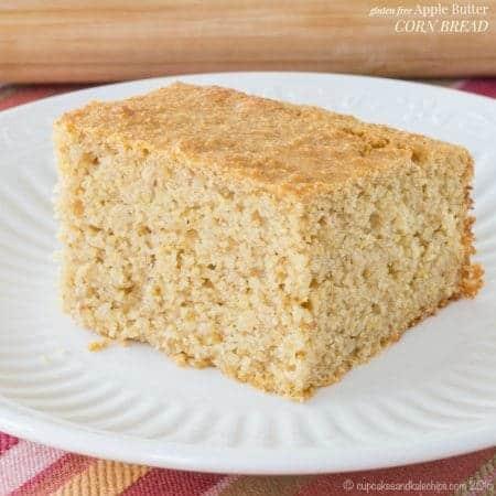 Gluten Free Apple Butter Corn Bread