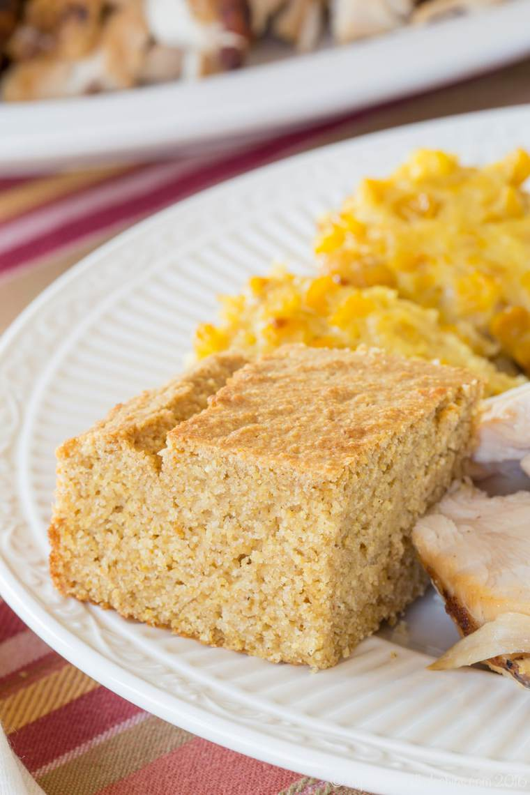 Serve this easy cornbread recipe with a holiday meal