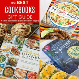 Best Cookbooks for Foodies - foodie gift guide for people who love to cook