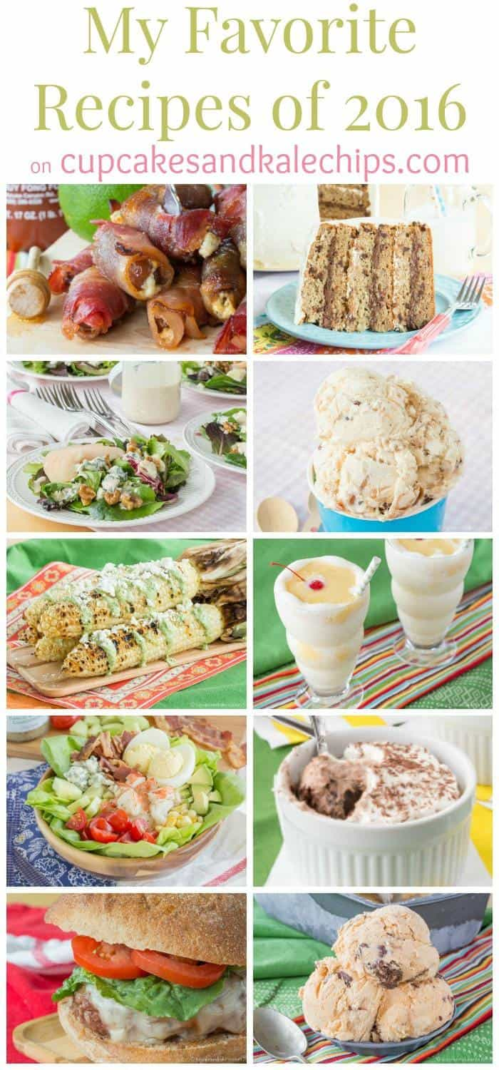 My Favorite Recipes on cupcakesandkalechips.com - the sweet and savory recipes I loved the most!