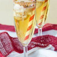 Sparkling Apple Cider Floats