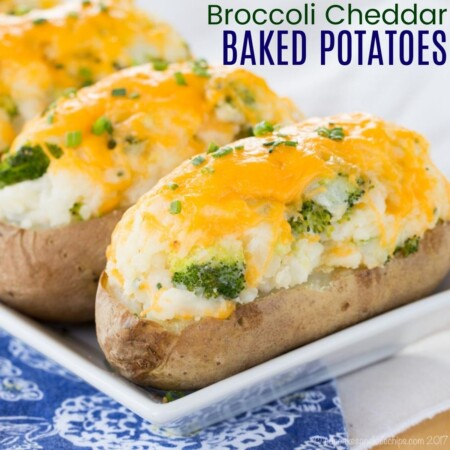broccoli cheddar baked potatoes square image