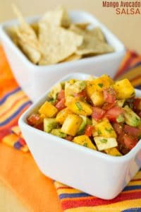 Easy Mango Avocado Salsa Recipe