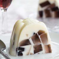 Sparkling Ice Cream Float Gelatin Mold