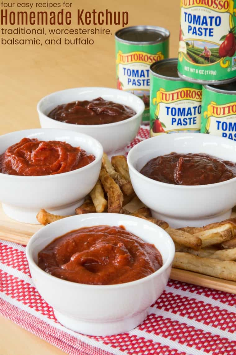 Easy Homemade Ketchup Recipes