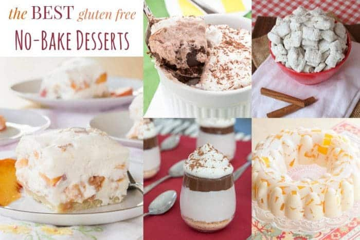 titled photo: Best Gluten Free No Bake Desserts