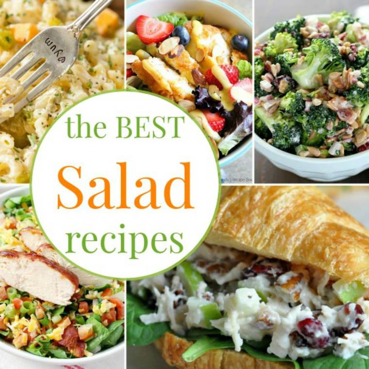 30 Of The Best Salad Recipes Cupcakes Kale Chips