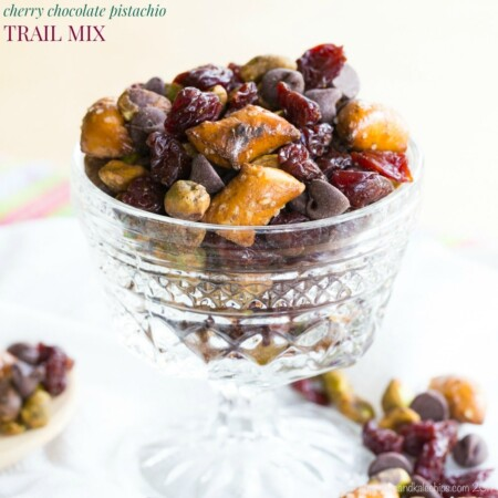 Cherry Chocolate Pistachio Trail Mix
