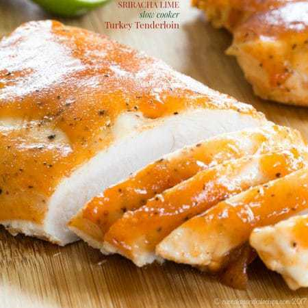 Sriracha Lime Slow Cooker Turkey Tenderloin Recipe