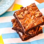 Gluten Free Brownies with Peanut Butter Cups