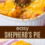 Easy Shepherd's Pie Recipe Collage