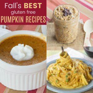 Best Gluten Free Pumpkin Recipes for Fall