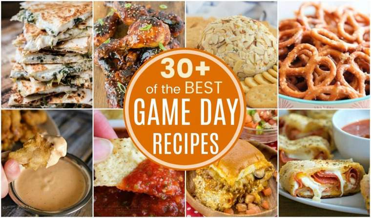 Football Snacks and Game Day Recipies