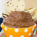 Smoky Cumin Lime Pumpkin Black Bean Hummus - an easy and healthy snack recipe for black bean dip