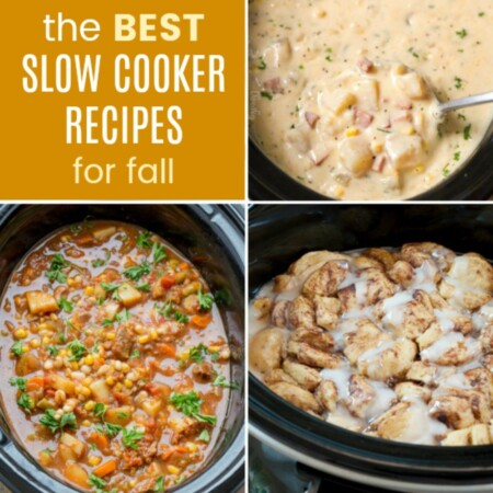 The Best Crockpot Recipes for Fall from your Slow Cooker