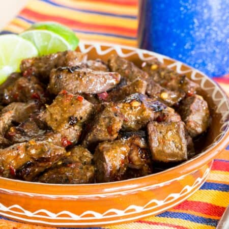 Easy Chili Lime Steak Bites Recipe