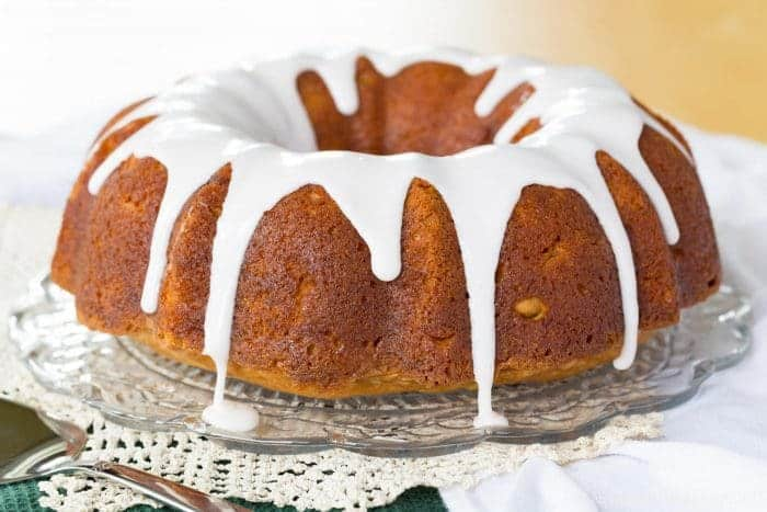 Sparkling Apple-Cranberry Gluten-Free Pound Cake Recipe