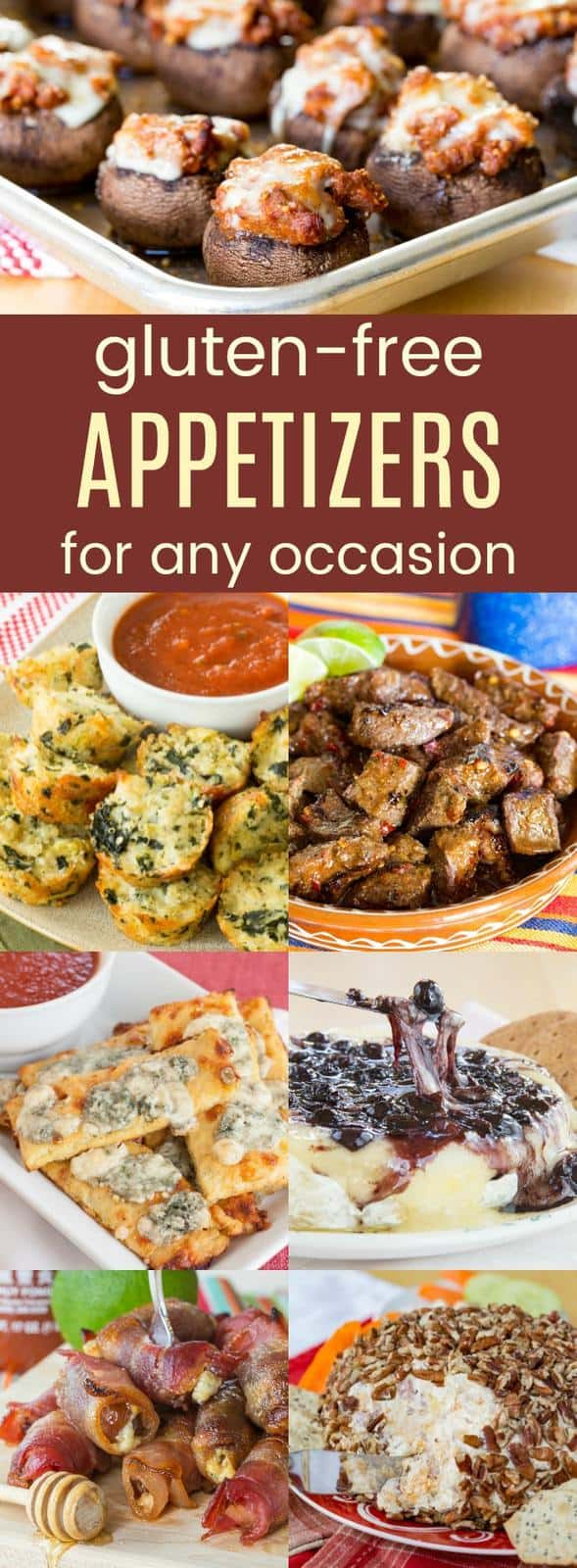 Recipes for Gluten Free Appetizers