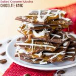 How to Make Salted Caramel Mocha Chocolate Bark Recipe