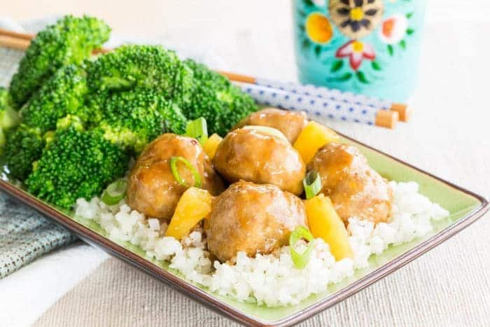 How to Make Teriyaki Turkey Meatballs Meal Prep Recipe