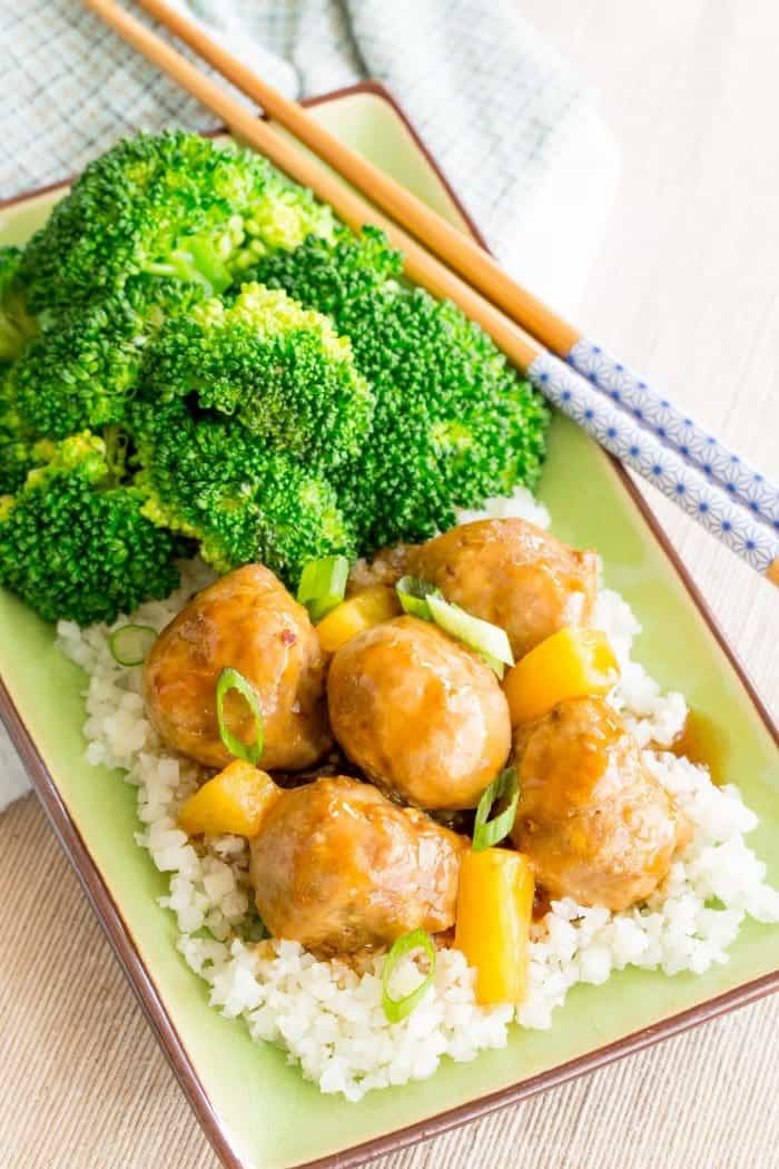 Baked Teriyaki Meatballs Recipe