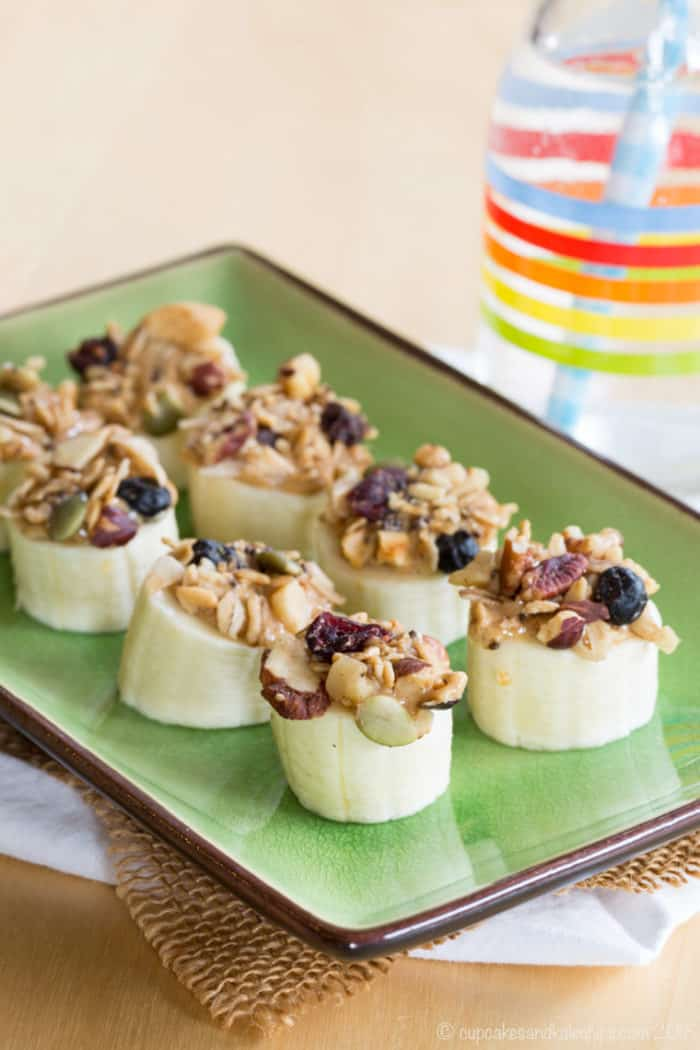 Peanut Butter Banana Snack - three-ingredient recipe
