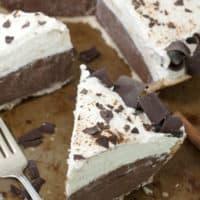 No-Bake Cinnamon French Silk Pie