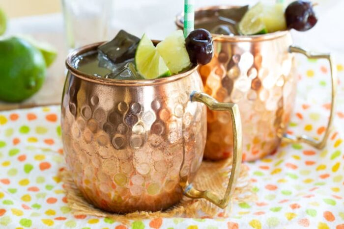 Pina Colada Moscow Mules