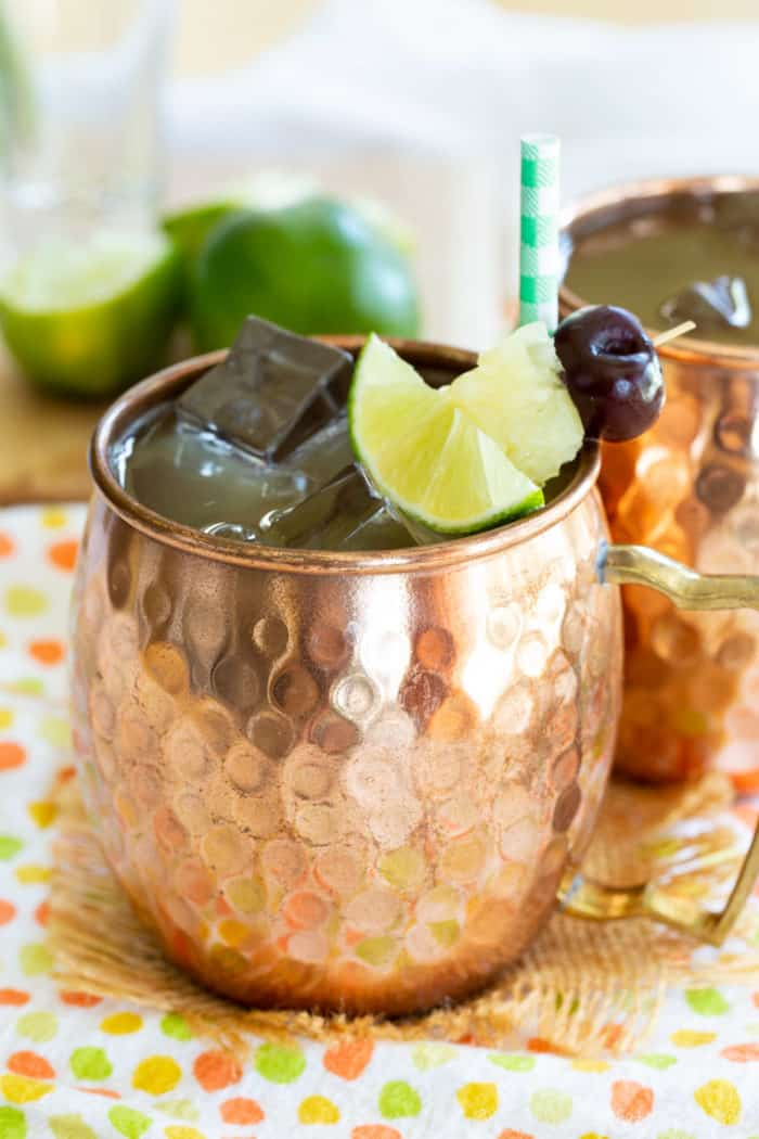 Pina Colada Mule Cocktail