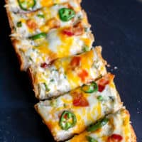 Jalapeno Popper Cheese Bread