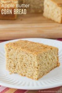 Gluten Free Apple Butter Corn Bread Recipe