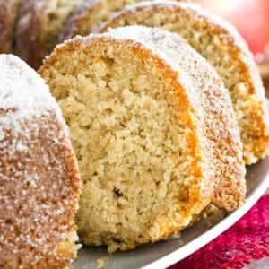 Gluten Free Apple Cider Donut Cake