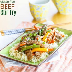 Gluten Free Beef Stir Fry with Vegetables