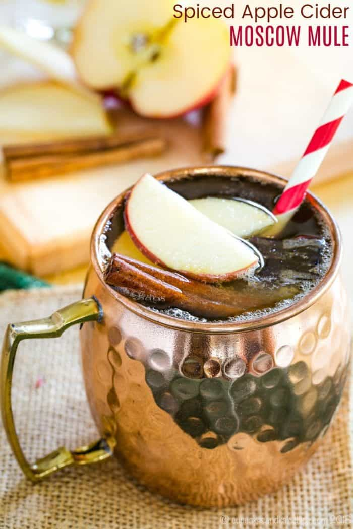 Spiced Apple Cider Moscow Mule Recipe