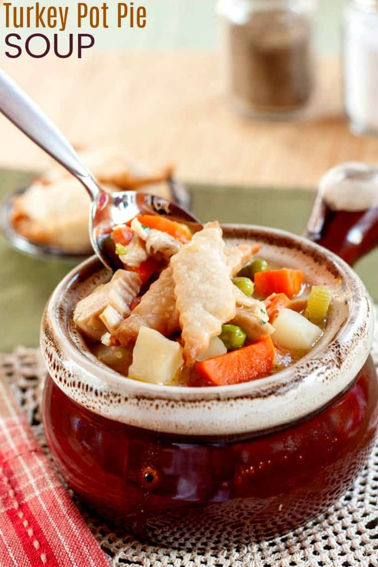 Turkey Pot Pie Soup Recipe