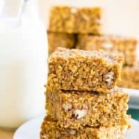 Pumpkin Quinoa Breakfast Bars