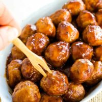 BBQ Turkey Meatballs