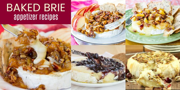 Best Baked Brie Appetizers
