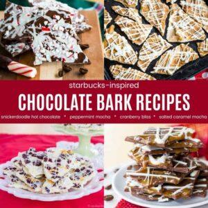 Starbucks Best Chocolate Bark Recipes
