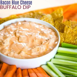 Bacon Blue Cheese Buffalo Dip