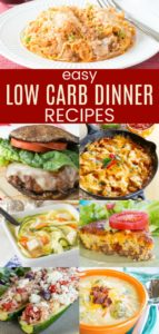 Best Easy Low Carb Dinner Recipes