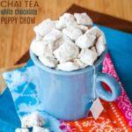 Chai Tea White Chocolate Puppy Chow recipe image