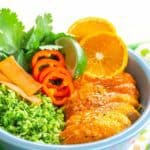 Orange Chicken Broccoli Rice Bowls Recipe