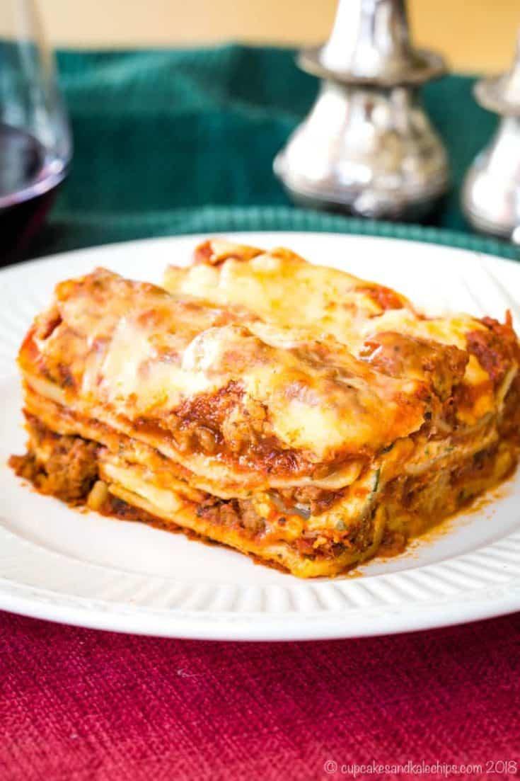 World's Best Gluten Free Lasagna