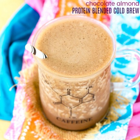 Chocolate Almond Protein Blended Cold Brew