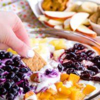 Greek Yogurt Cheesecake Fruit Dip
