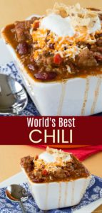 World's Best Chili Pin Collage