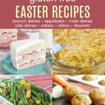 Best Gluten Free Easter Recipes collage of food photos