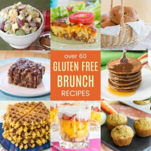 Collage of pictures of Gluten Free Brunch Recipes