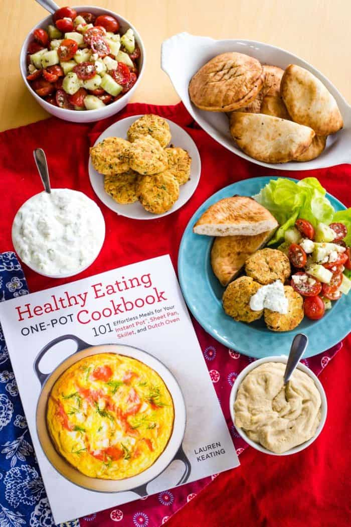Healthy Eating One-Pot Cookbook is the source of this Healthy Falafel Recipe
